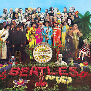 And the name of the song was...  Sergeant Pepper's Lonely Hearts Club Band.