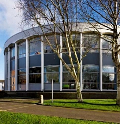 West Sussex Library, Chichester, built January 1967