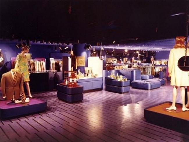 Harrods' 'Way In' boutique, 1967