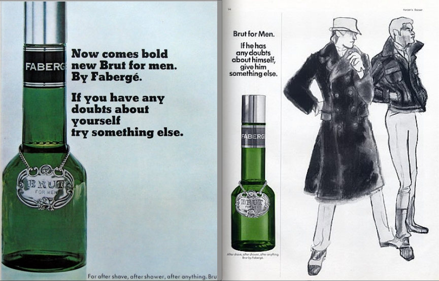 Launched in 1964, the upwardly mobile, musky-sweet scent is still going strong. The bottle and name were based on champagne.