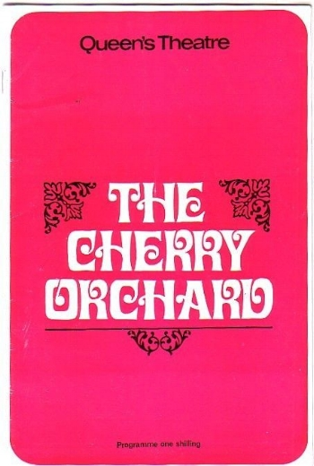 Patrick Wymark and Lila Kedrova starred in The Cherry Orchard, Queen's Theatre, 1967