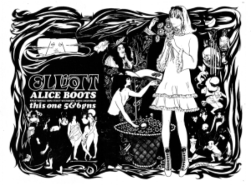 Elliott's 'Alice' boot, a big seller in the late '60s