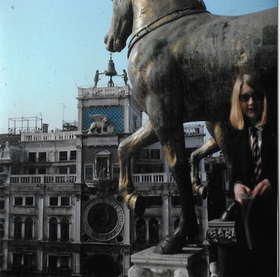 Ruth, by the horses of St Mark's.