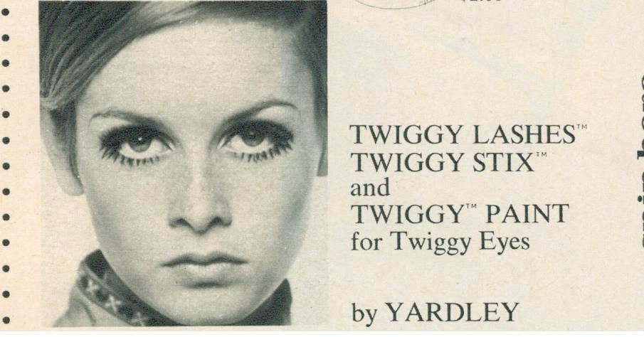 'Seventeen' magazine, 1968