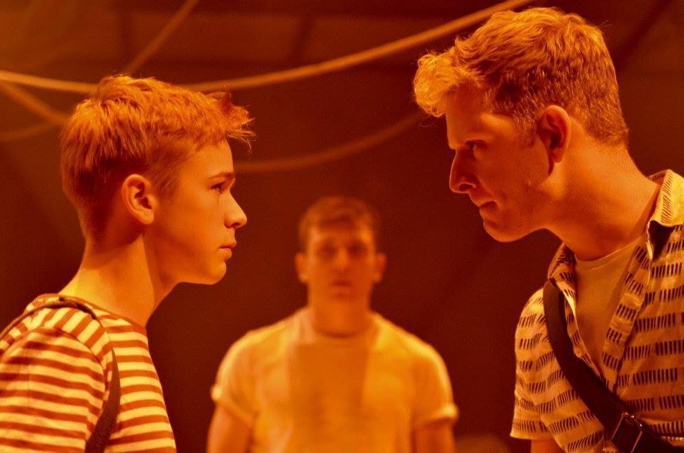 'The Burnt Part Boys' Photo by Park Theatre