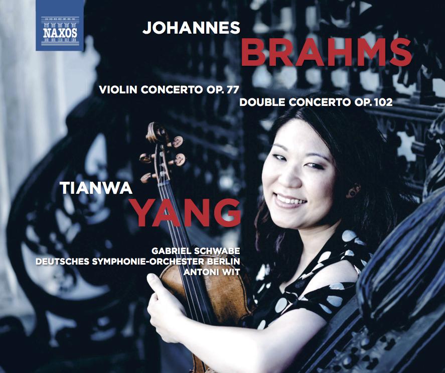 Johannes Brahms  Violinkonzert | Doppelkonzert  Tianwa Yang, Violine Gabriel Schwabe, Violoncello  Deutsches Symphonie-Orchester Berlin Antoni Wit, Dirigent   Mehr Info