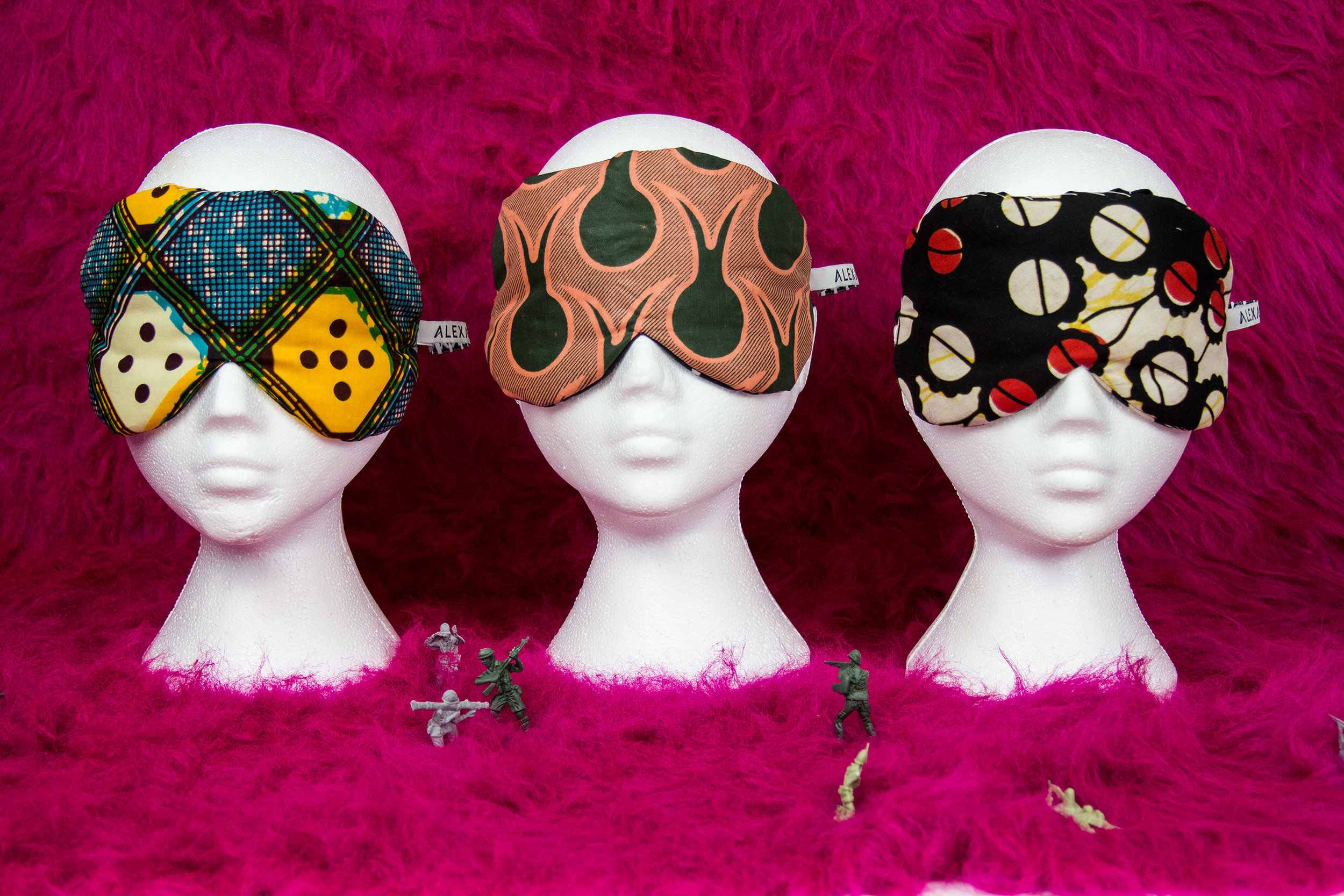 """Eye Masks   The following is placeholder text known as """"lorem ipsum,"""" which is scrambled Latin used by designers to mimic real copy. Class aptent taciti sociosqu ad litora torquent per conubia nostra, per inceptos himenaeos. In sit amet felis malesuada, feugiat purus eget, varius mi."""