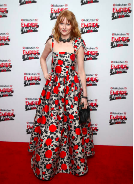 Best Actress Nominee Emily Beecham attends the Rakuten TV EMPIRE Awards 2018 at The Roundhouse on March 18, 2018 in London, England. (Photo by Karwai Tang/WireImage)