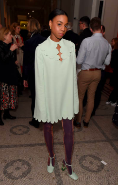 Pippa Bennett-Warner attends Mary Quant VIP preview at The V&A on April 03, 2019 in London, England. (Photo by David M. Benett/Dave Benett/Getty Images for The V&A)