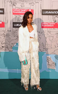 Pippa Bennett-Warner attends Naked Heart Foundation's Fund Fair with LuisaViaRoma at The Roundhouse on February 18, 2019 in London, England. (Photo by David M. Benett)