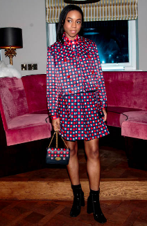 Pippa Bennett-Warner attends the Mulberry Reflections party celebrating LFW SS19 at Laylow Feb 15, 2019 in London, England. (Photo by Jack Taylor/Getty Images)