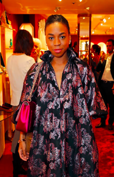 Pippa Bennett-Warner attends the Roger Vivier London New Bond Street Opening in Mayfair on January 30, 2019 in London, England. (Photo by David M. Benett/Dave Benett/Getty Images For Roger Vivier )