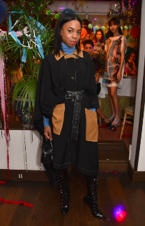 Pippa Bennett-Warner attends the Isa Arfen Spring/Summer 2019 collection launch at San Lorenzo on November 28, 2018 in London, England. (Photo by David M. Benett/Dave Benett/Getty Images )