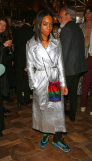 Pippa Bennett-Warner attends the Brasserie Of Light at Selfridges launch Nov 2018 in London, England. (Photo by David M. Benett/Dave Benett/Getty Images for Brasserie of Light)