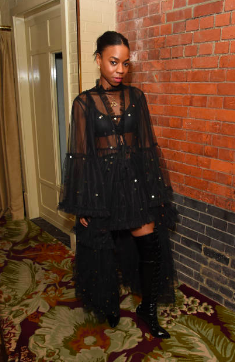 Pippa Bennett-Warner attends the Christian Louboutin X Halpern post show party during London Fashion Week September 2018 on Sept 2018 at Chiltern Firehouse (Photo by David M. Benett/Getty Images)