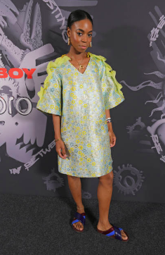 Pippa Bennett-Warner attends the Charles Jeffrey LOVERBOY x MAC Pro Party at 180 The Strand on July 19, 2018 in London, United Kingdom. (Photo by David M. Benett/Dave Benett/Getty Images for MAC)