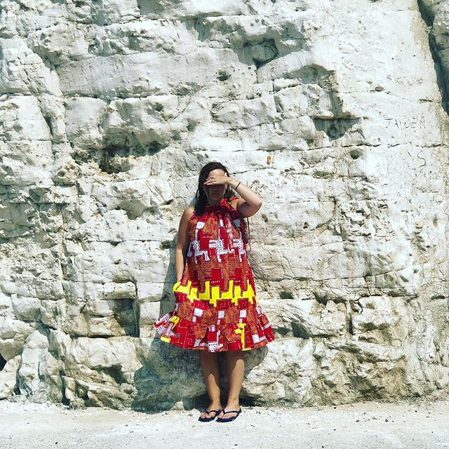 NEW ☀️ DRESS #madeinmargate #madebyme #alexandramann