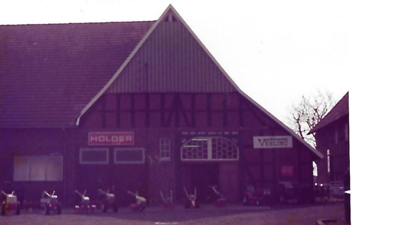 Der Familienbetrieb Vehling Motorgeräte startete als eine der ersten Vertretungen der Firma Holder