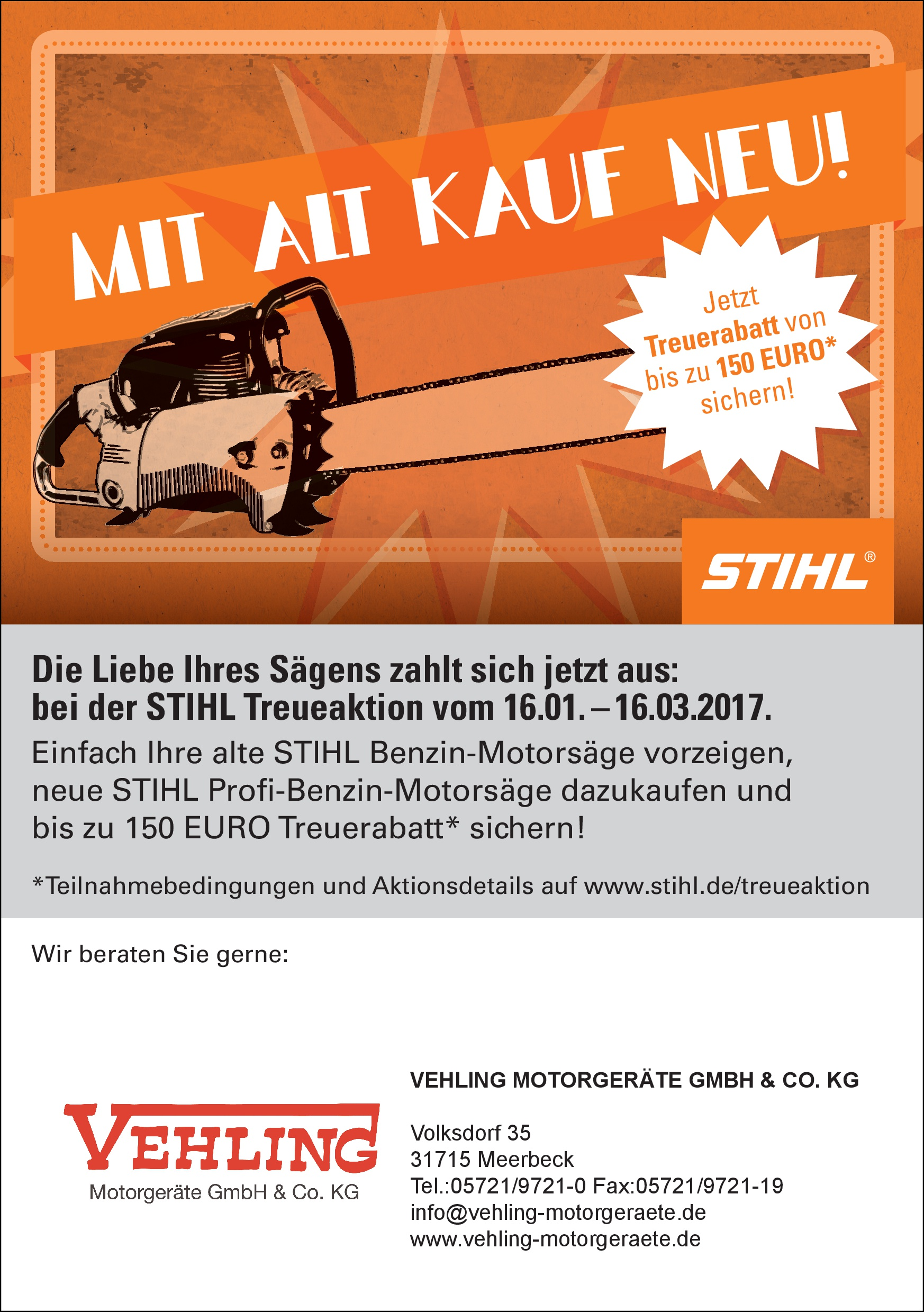 STIHL Treueaktion