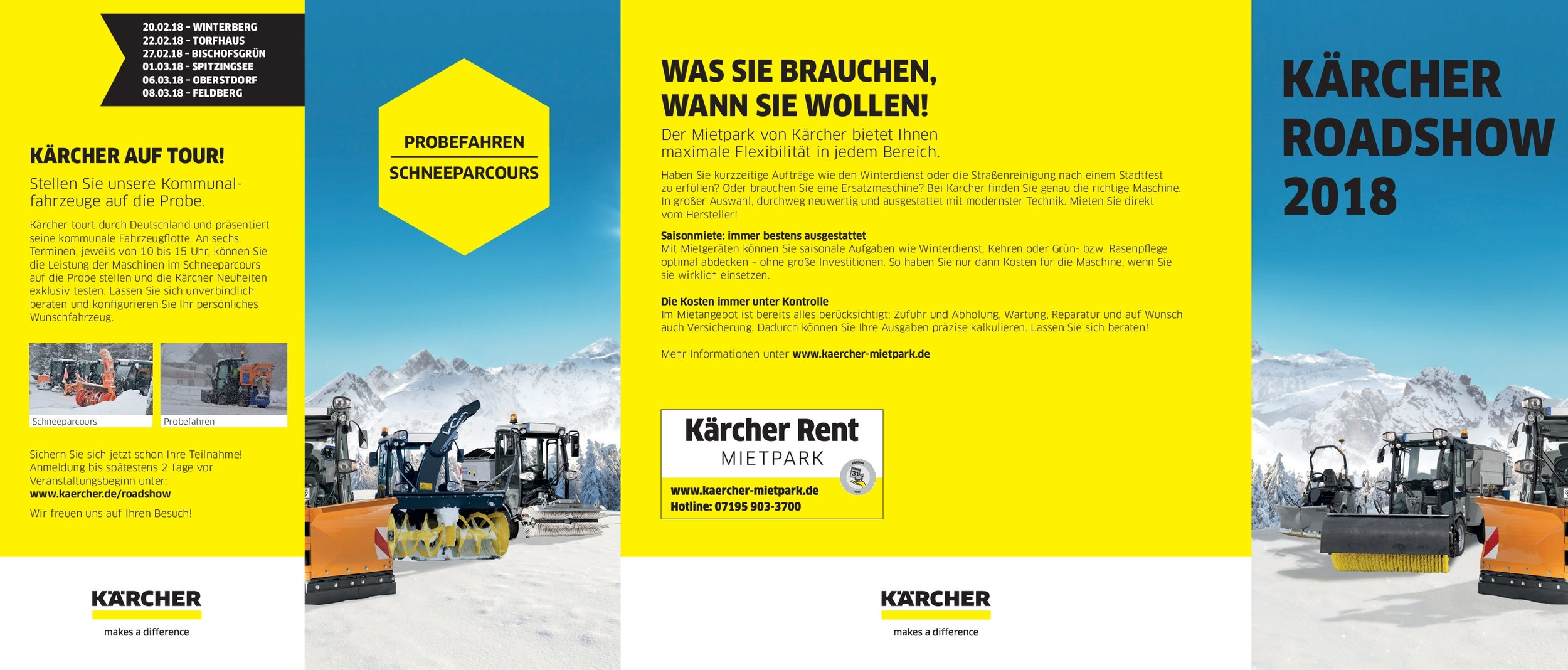 Kärcher Roadshow