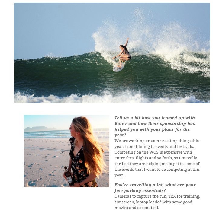 Meet Lucy Campbell, Carve Magazine HERE