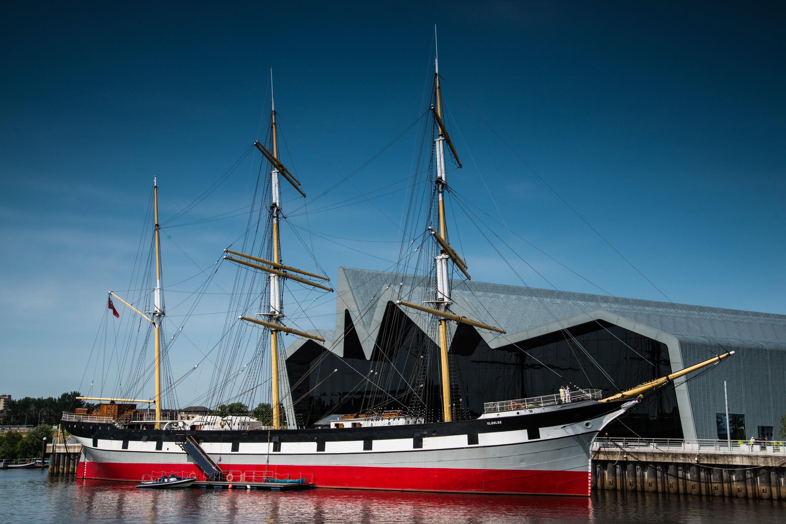 Riverside Museum, Glasgow. HLF award £21.6m