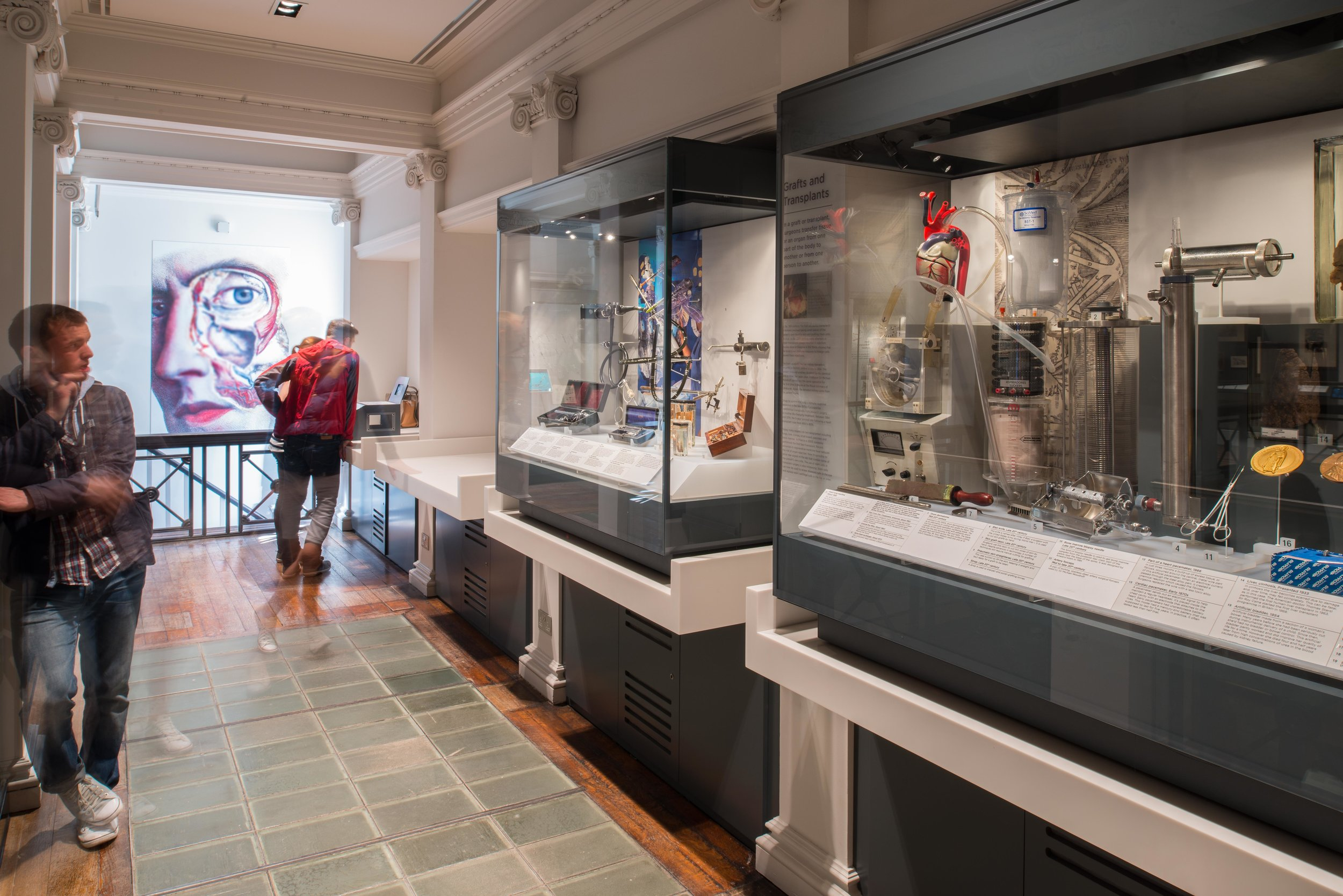 Royal College of Surgeons' Museums, Edinburgh. HLF award £2.8m
