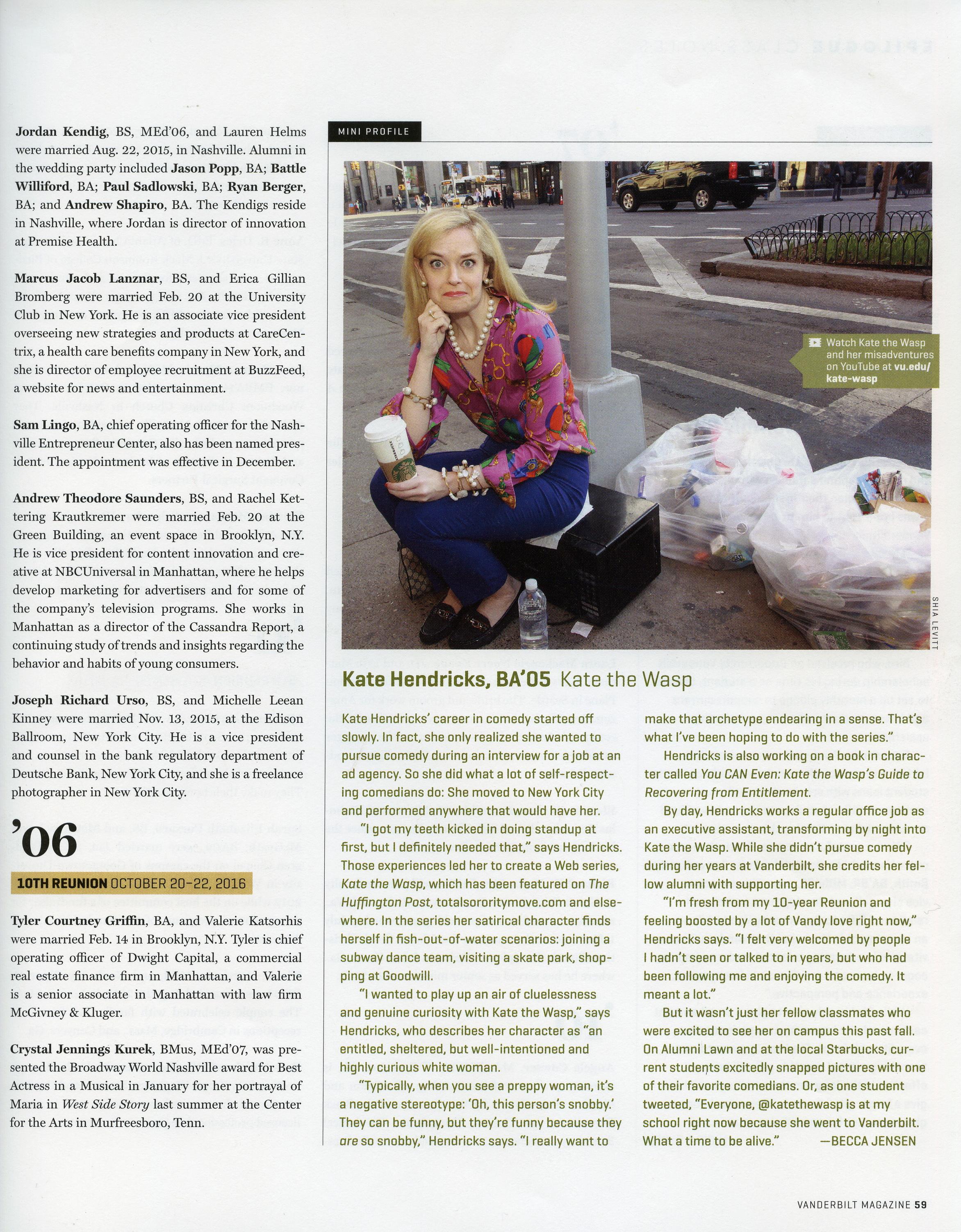 Vanderbilt Magazine