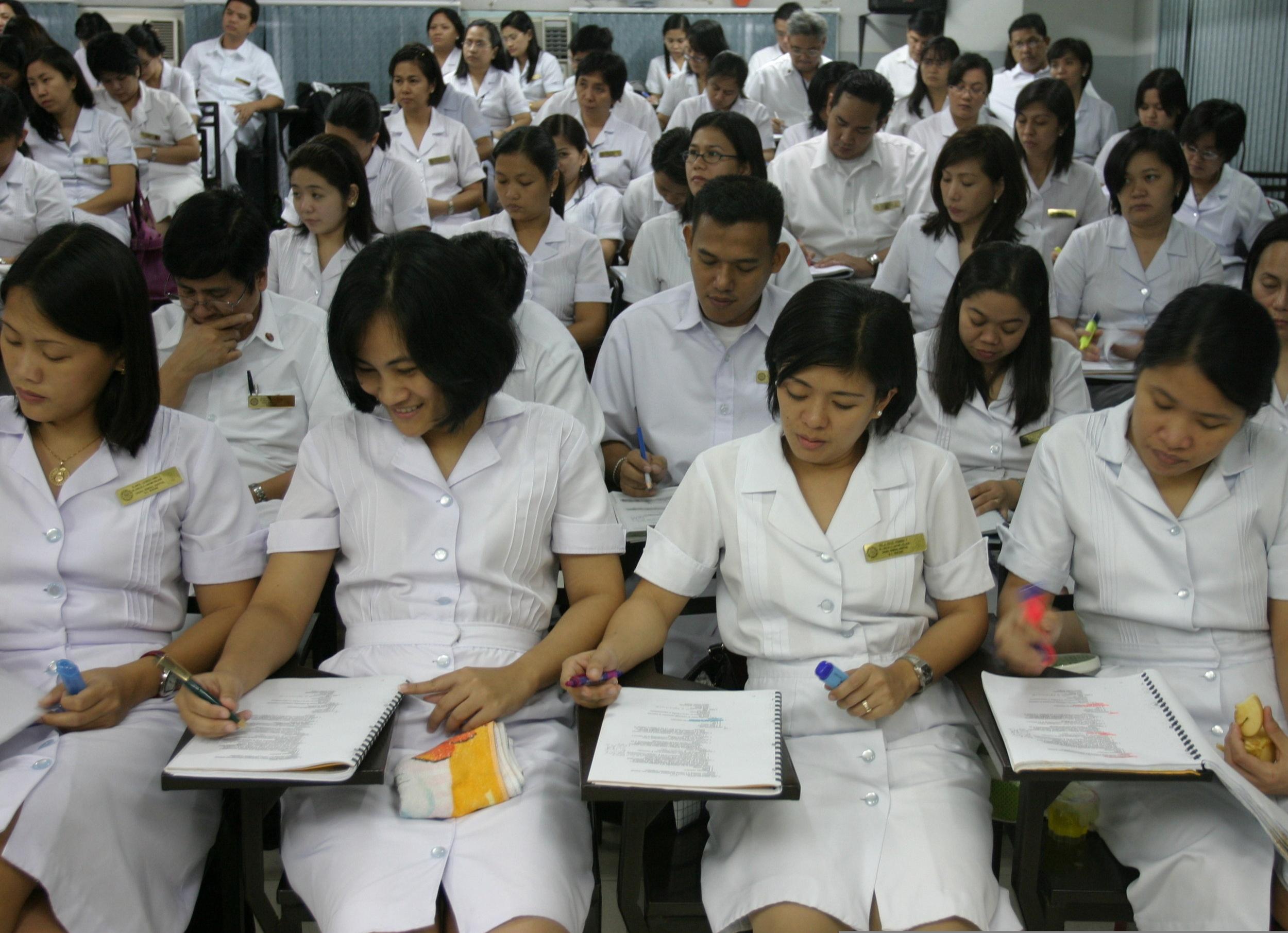 Filipino Doctors in Nursing School   American Public Media's Marketplace (Marketplace..org)