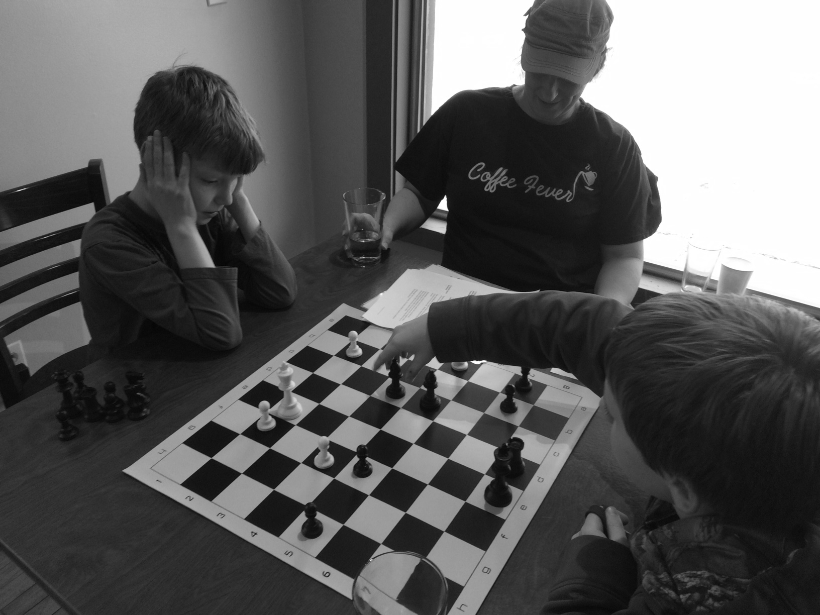 Chess  Join the Chess Club after school or just enjoy a game with a friend in the lounge.