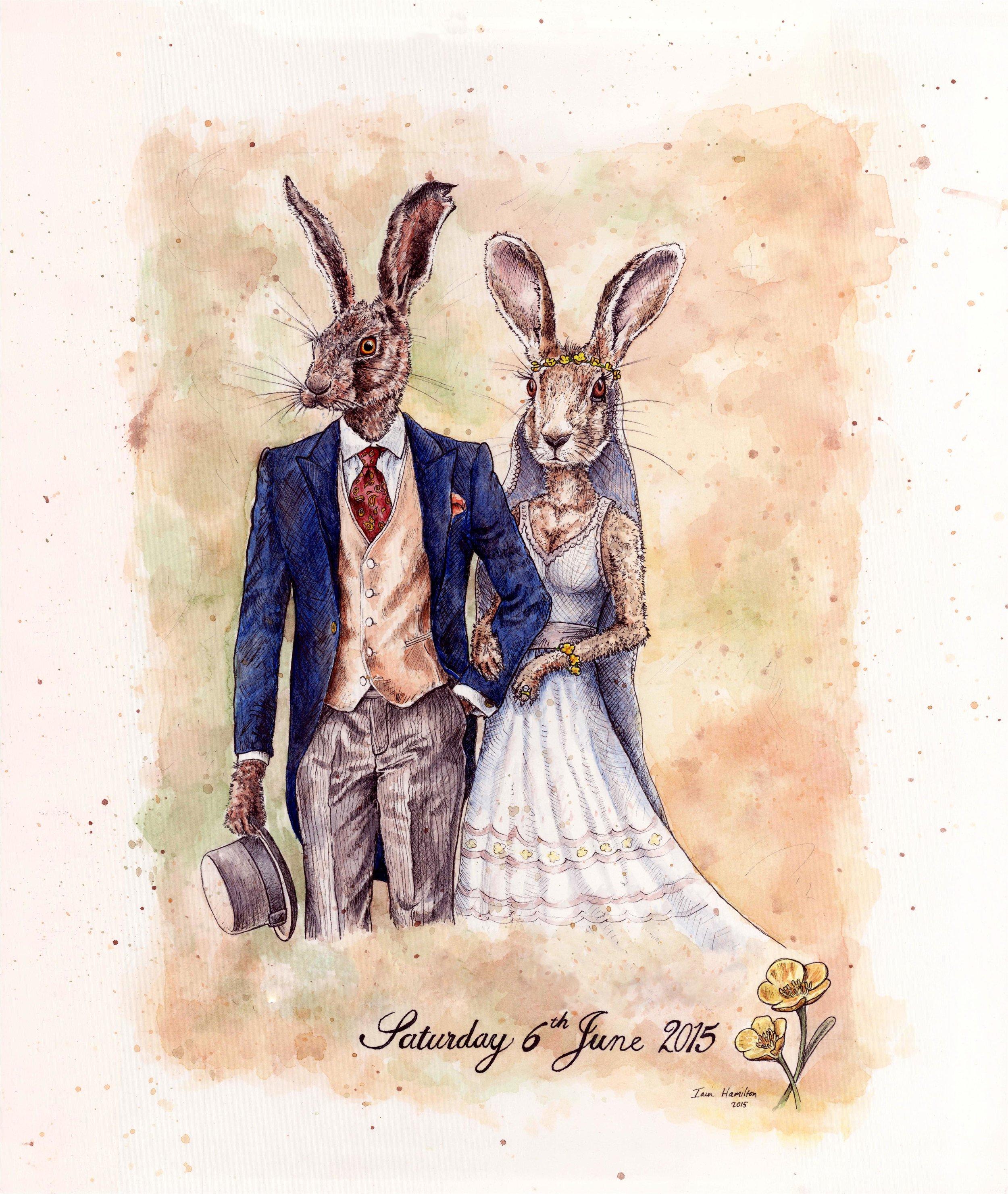 Wedding Hares