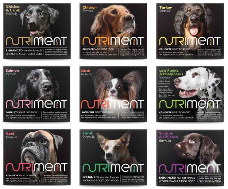 nutriment raw food natural furever pet care