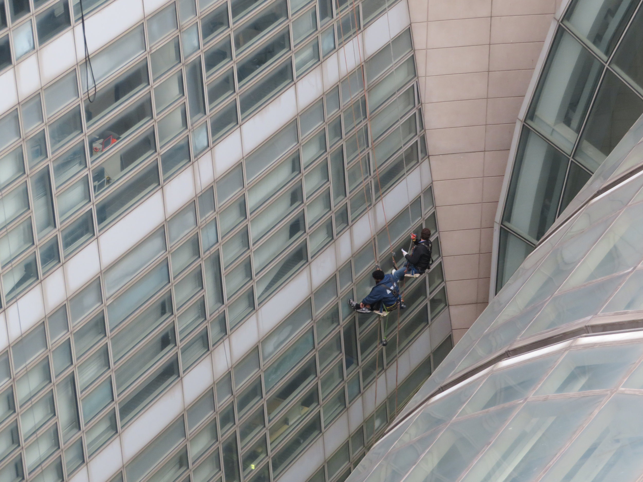 Ronald Reagan Building: Skylight and curtain wall leak survey