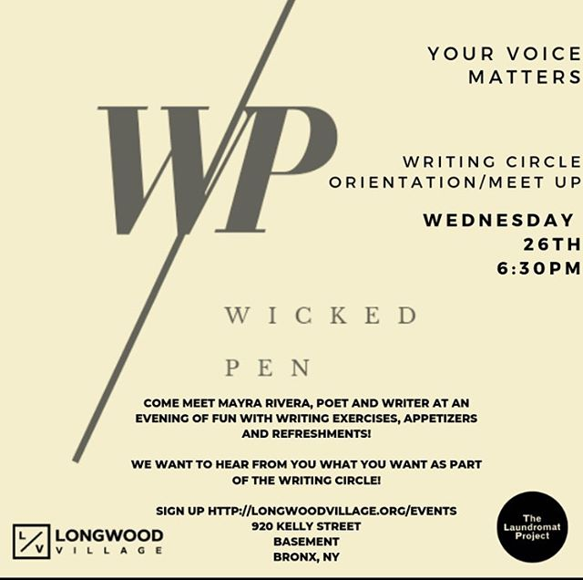 Want to know more about the writing group or The Art of Parenting? Let's meet so we can share what we have in store!  Come through and meet our LV team at the @laundromat_proj