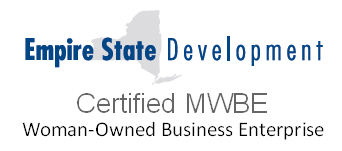 Empire State Development Certified Woman Owned Business Enterprise (NYS Certified MWBE)