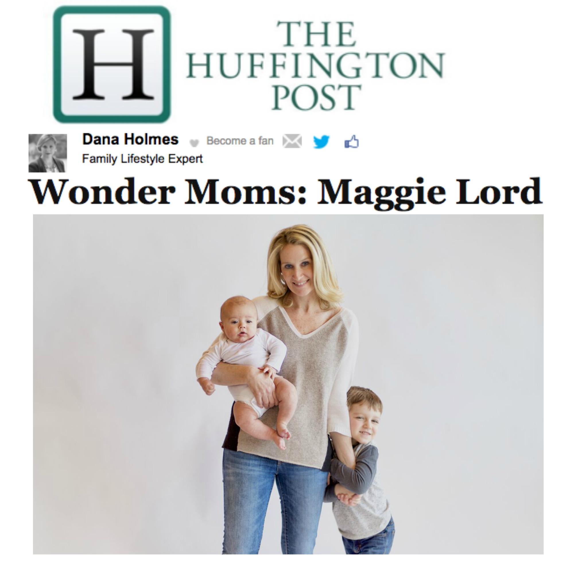 The Huffington Post -  Wonder Mom