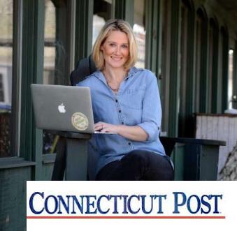 Connecticut Post -  Mompreneur Turns Wedding Blog Into Big Business