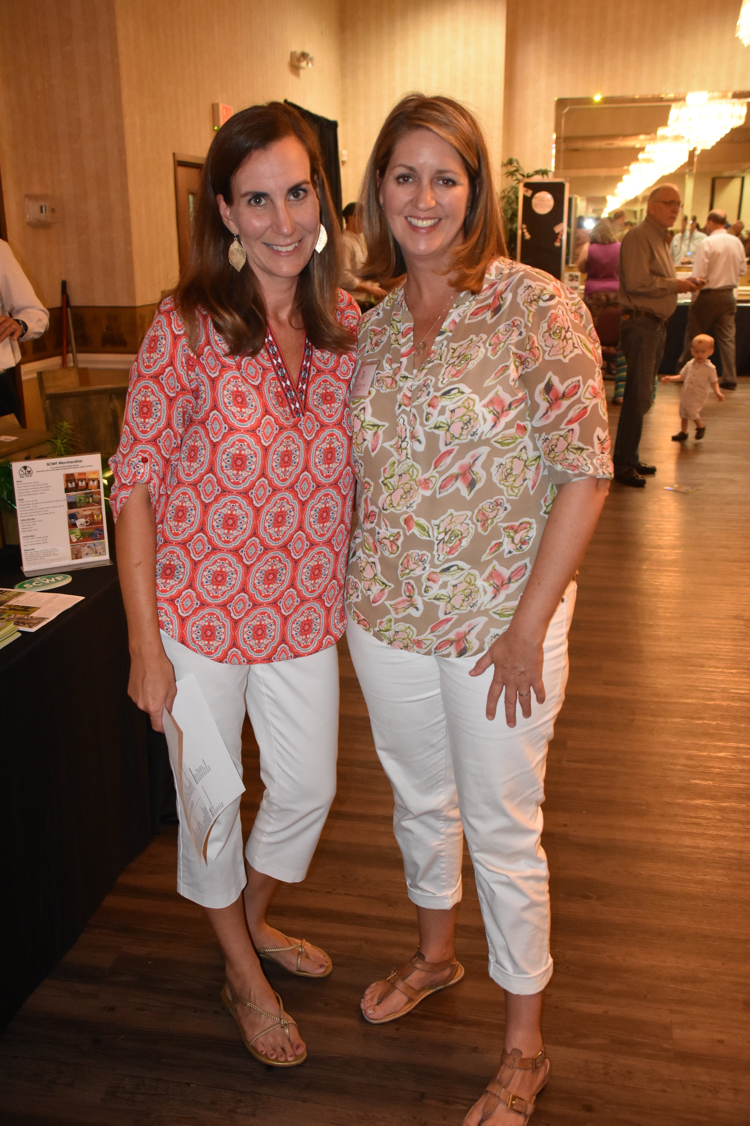Director of Education Sara Green and former Director of Development Harley Carpenter. Photo credit: Ray Nelson.
