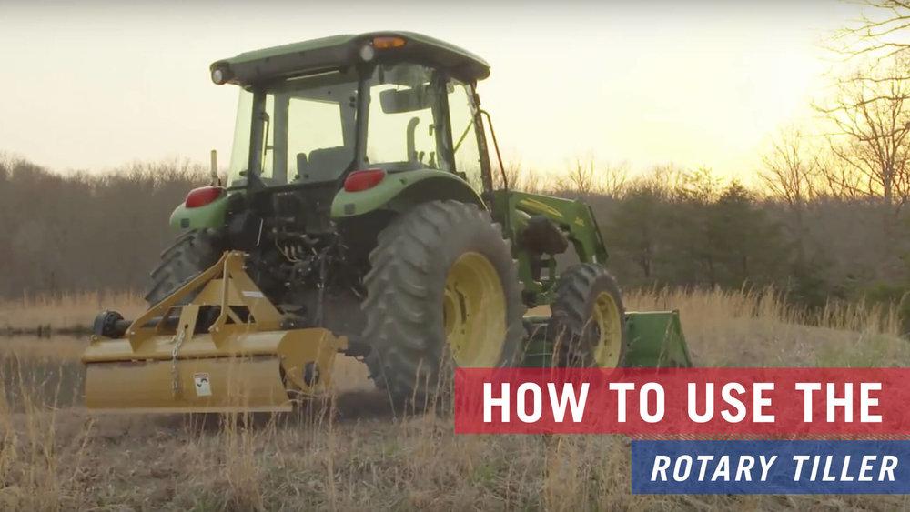 Rotary Tiller — Tarter Farm and Ranch Equipment | American