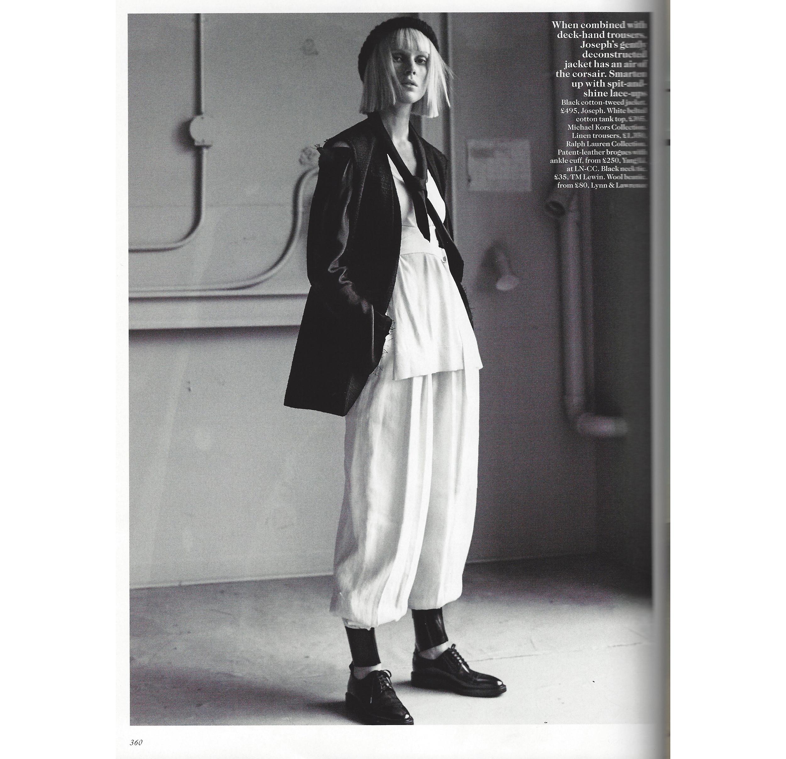 UK Vogue/ Josh Olins / Claire Richardson / Feb2016