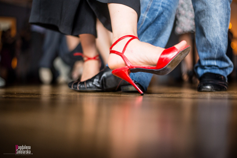 London & Brighton Portrait Photographer- Red Tango shoes image by Magdalena Smolarska photographer
