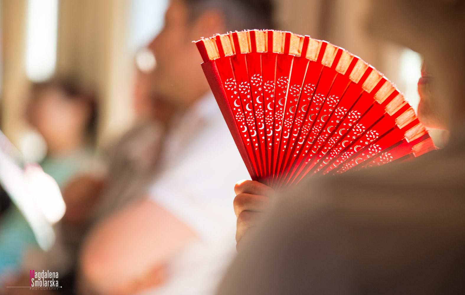 London & Brighton Portrait Photographer- Red Tango fan and beautiful light