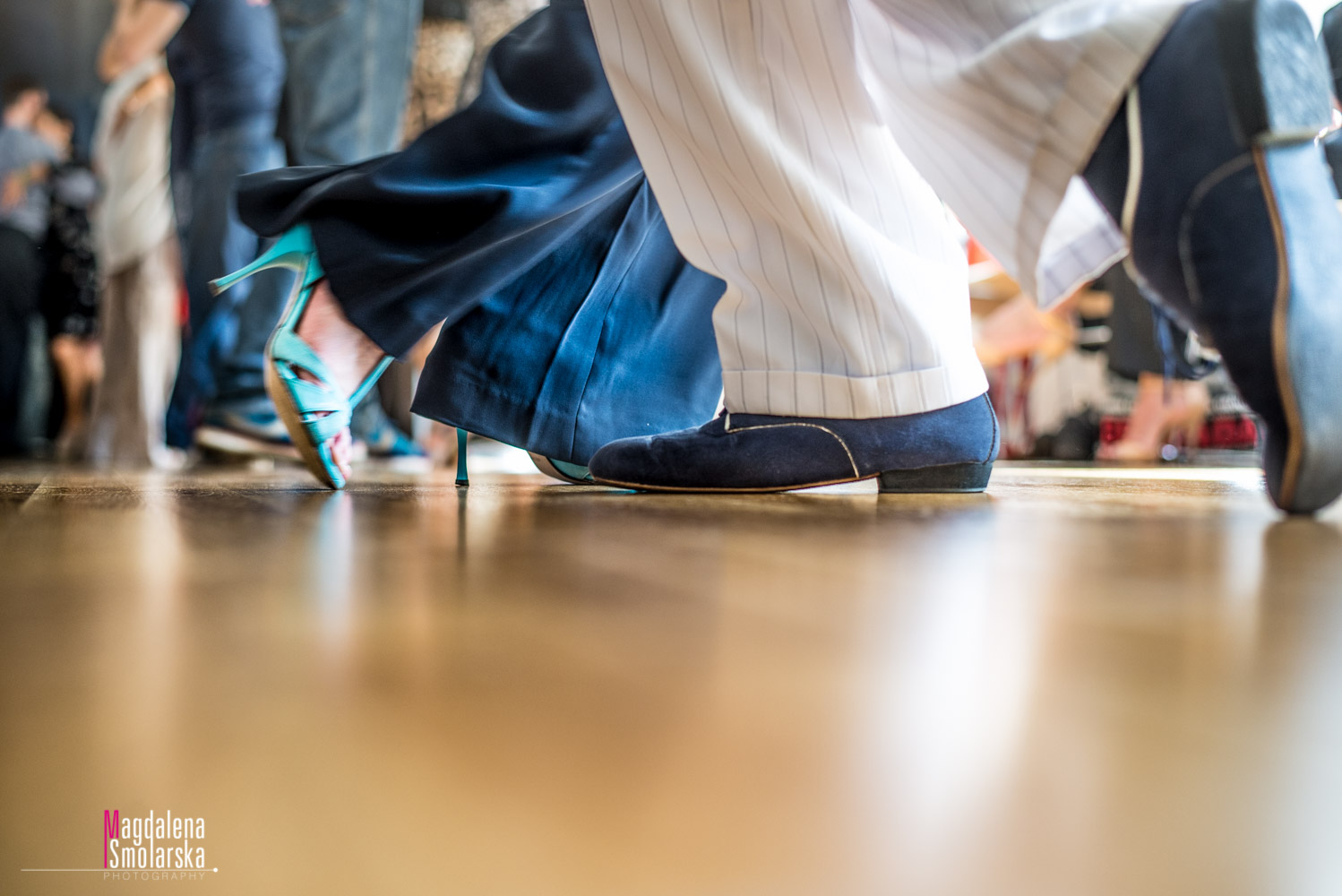 Dancing shoes and movement
