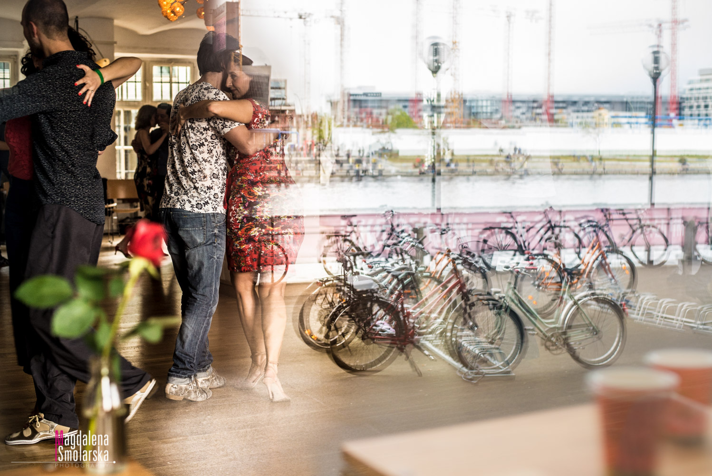 London & Brighton Portrait Photographer- Tango marathon window selection with bicycles