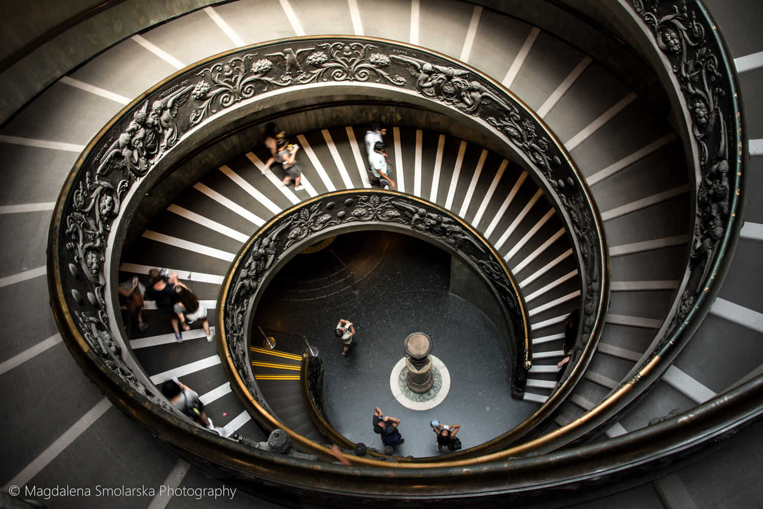 London & Brighton Portrait Photographer- Vatican famous stairs by Magdalena Smolarska