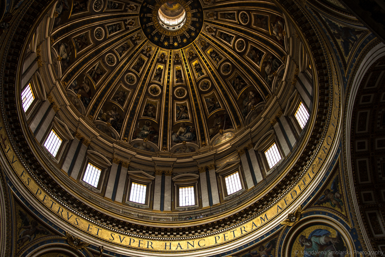 London & Brighton Portrait Photographer- Inside Vatican image by Magdalena Smolarska
