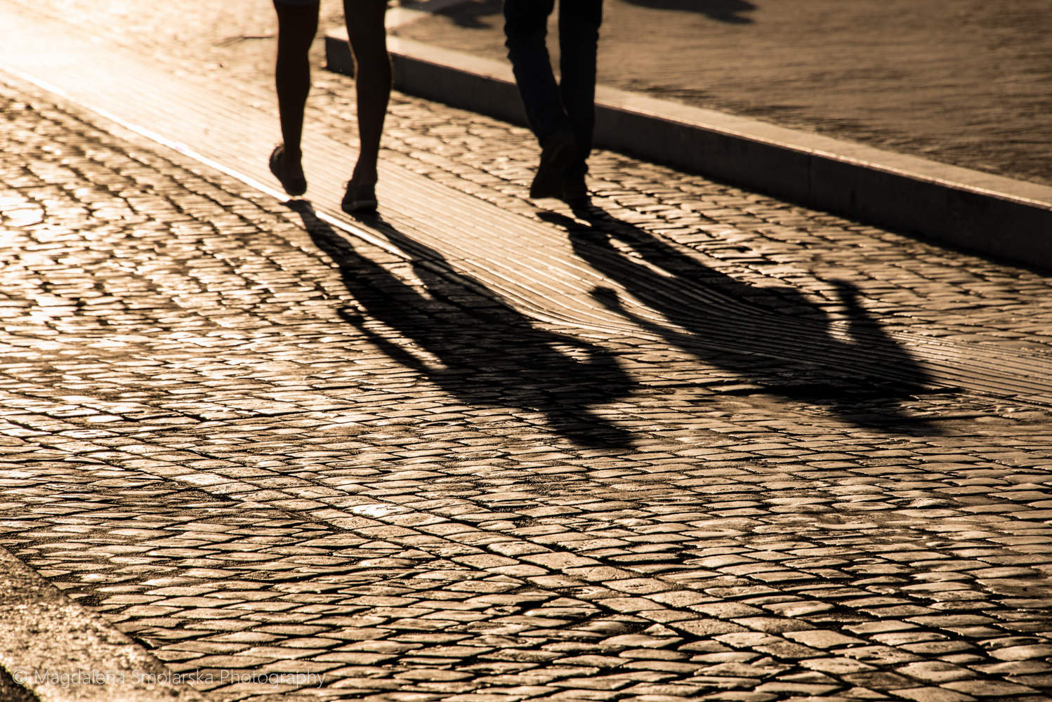 London & Brighton Portrait Photographer- Walking shadows in Rome with Magdalena Smolarska