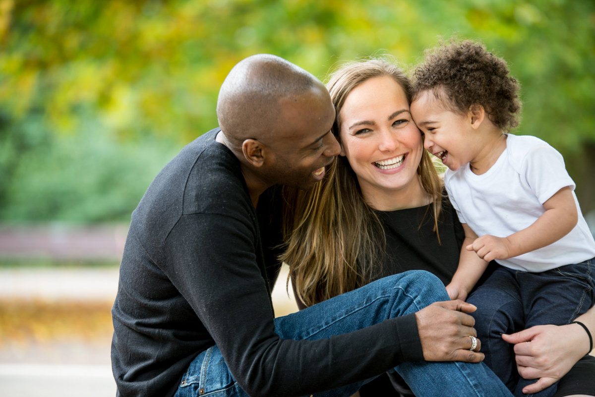 London & Brighton Portrait Photographer- Natural & relaxed family photo session in central London