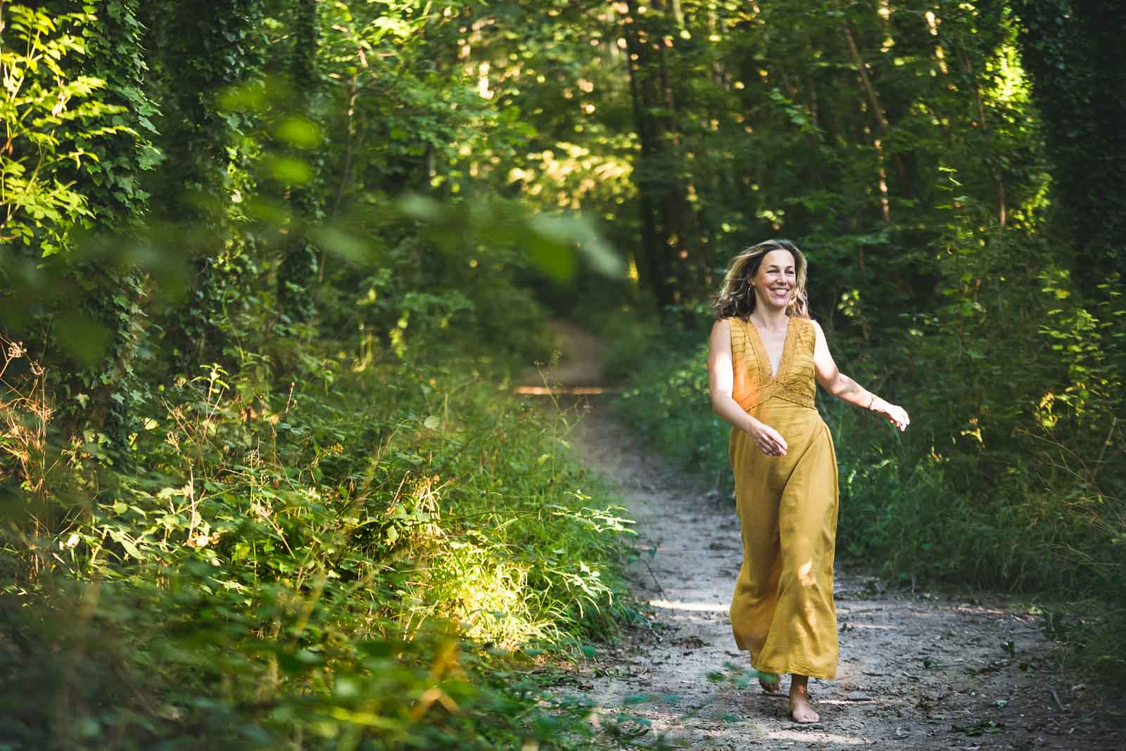 Outdoor Lifestyle Portrait Photography capturing movement and freedom, Magdalena Smolarska Personal Brand Photographer based UK (London & Brighton), travel Internationally too