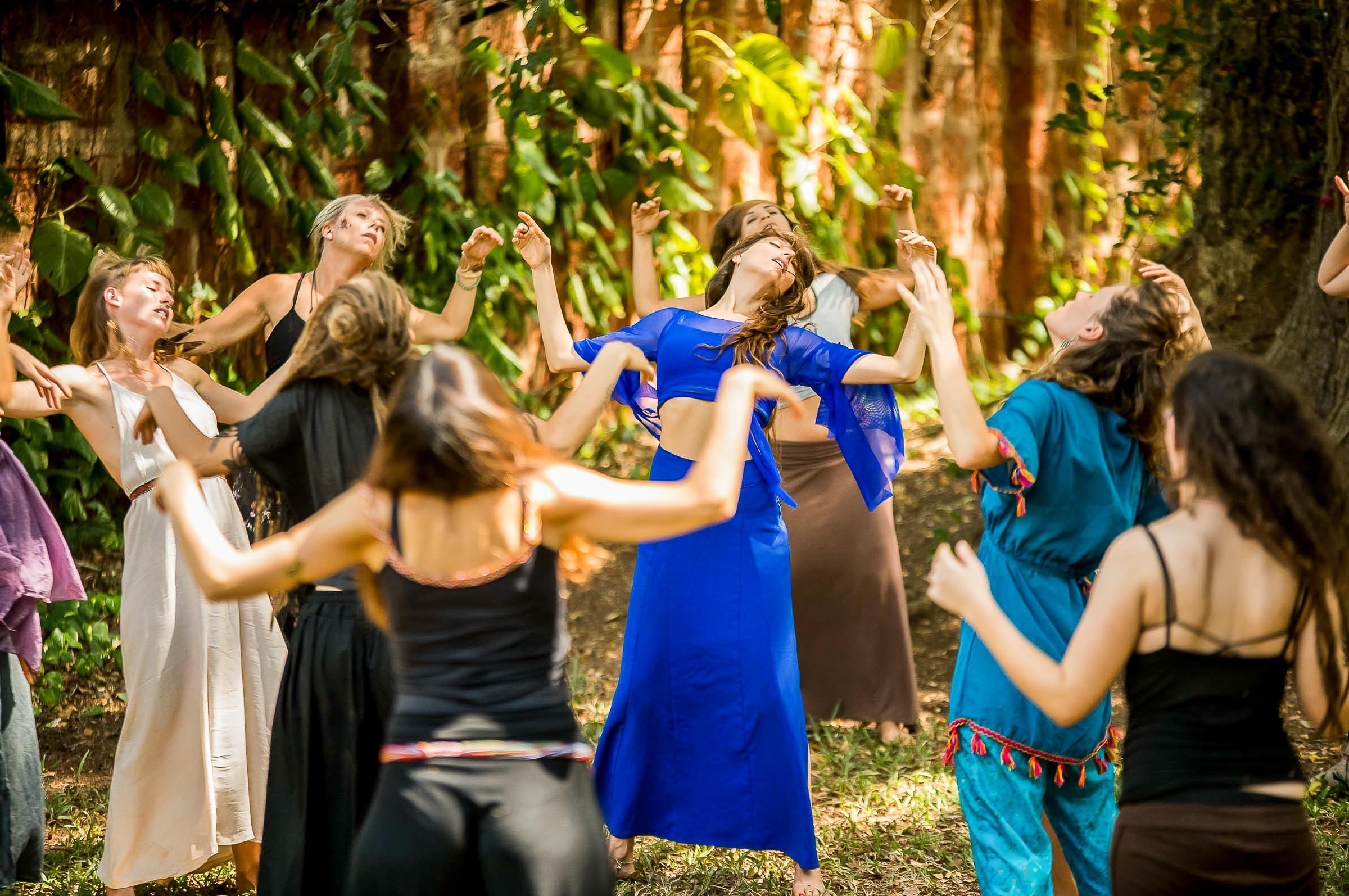 Dance & Yoga Intense Workshop Retreat with Zola Dubnikova  in India captured by the International Portrait Photographer - Magdalena Smolarska Photography based in UK